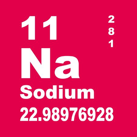 sel, sodium